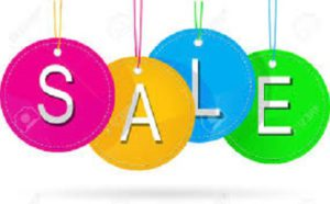 Sale- featured specials